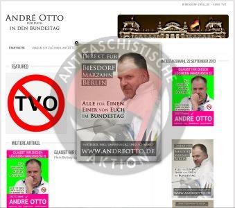 Screenshot Wahlkampf Andre Otto